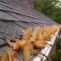 clogged screen style gutter cover system