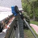 waterloov low maintenance gutter system requires no ladder to clean